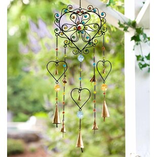 Heart Wind Chime by Wind & Weather