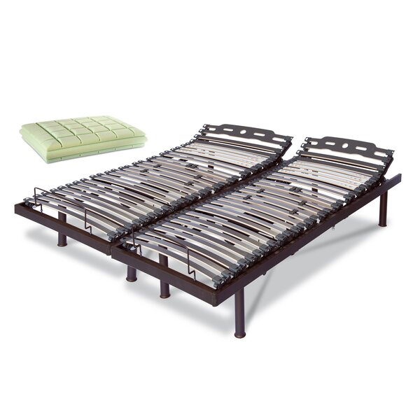 Electric T Motion KingAdjustable Bed by Tobia Natural Sleep