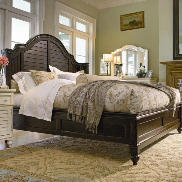 Paula Deen Home Steel Magnolia Panel Bed & Reviews | Wayfair