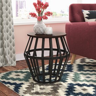Buy clear Arcturus End Table By Mercury Row