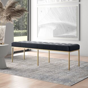 Zephyr Leather Bench