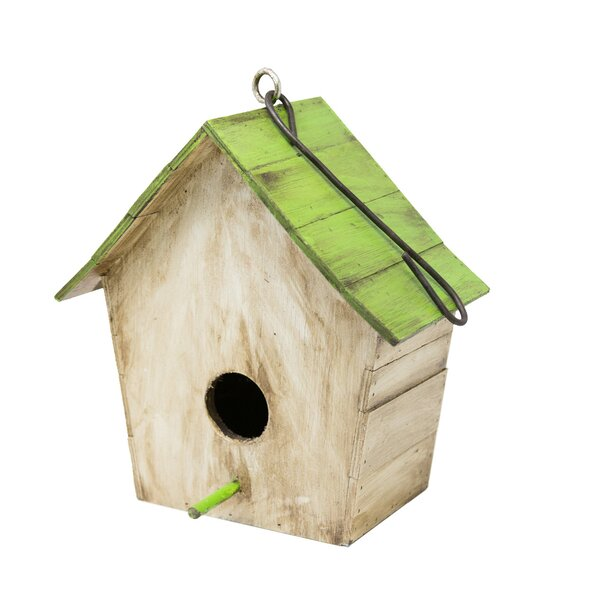 Classic Wooden 21 in x 11 in x 8 in Birdhouse by Rustic Arrow
