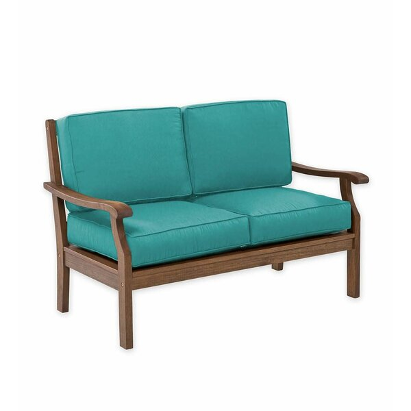 Claremont Deep Seating Love Seat with Cushions by Plow & Hearth