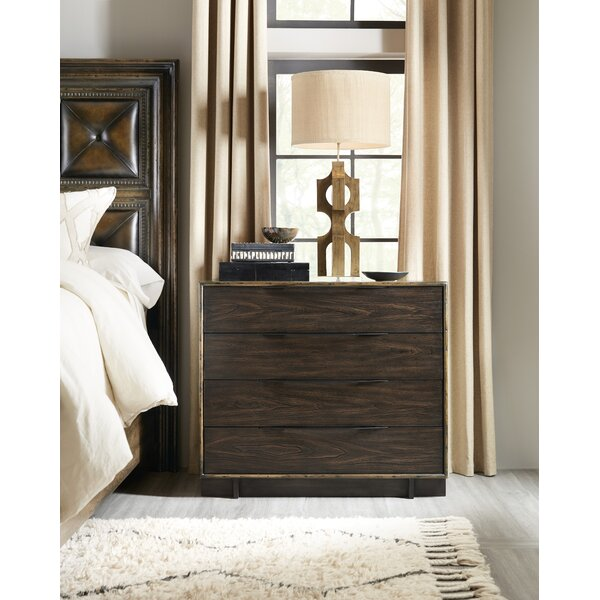 American Life-Crafted 4 Drawer Dresser by Hooker Furniture