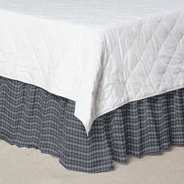Plaid Fabric Dust Ruffle by Patch Magic