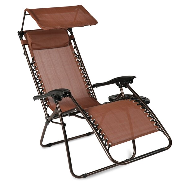 Hesson Zero Gravity Chair With Cushions By Winston Porter