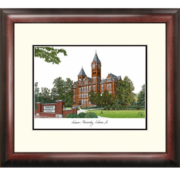Alumnus Lithograph Framed Photographic Print by Ca
