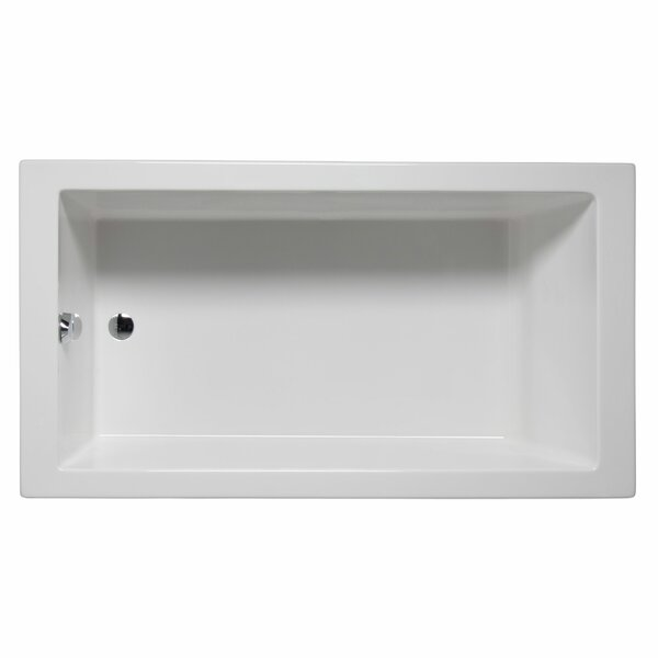 Venice 66 x 32 Soaking Bathtub by Malibu Home Inc.