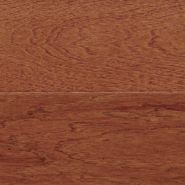 Blue Ridge 5 Engineered Hickory Hardwood Flooring in Cherry Spice by Welles Hardwood