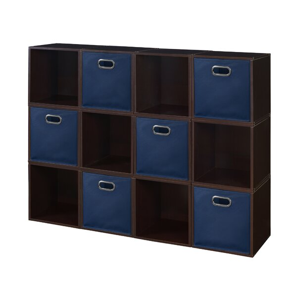 12 Cube Unit Bookcase By Rebrilliant