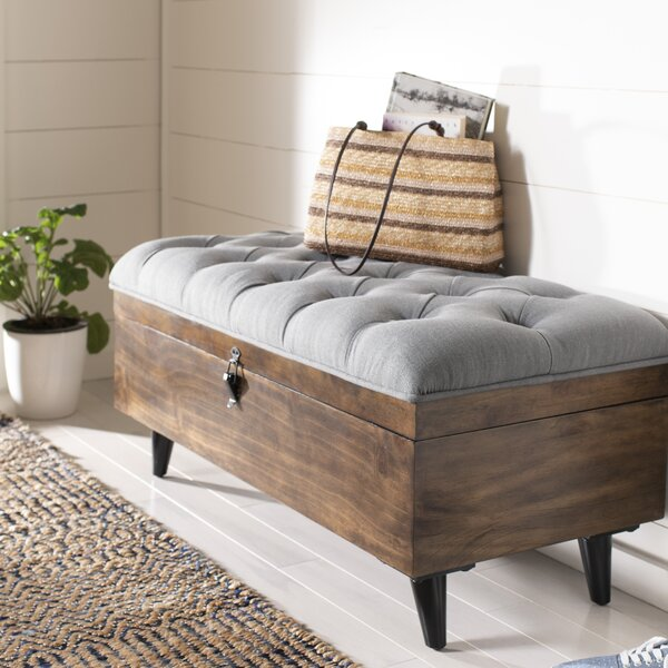 Union City Tufted Cocktail Storage Ottoman