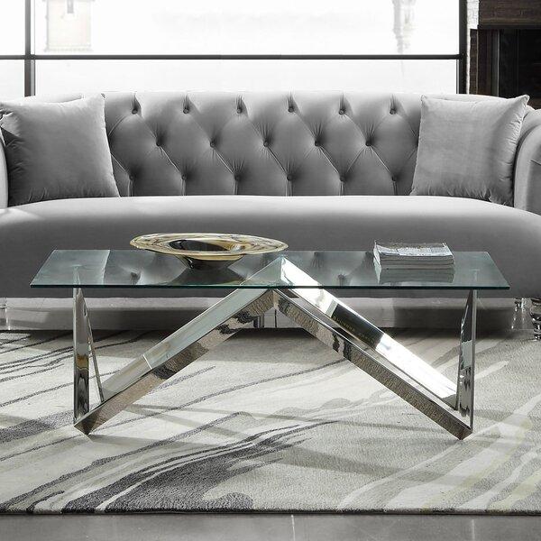 Hummel Rectangular Coffee Table by Orren Ellis