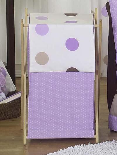 Mod Dots Laundry Hamper by Sweet Jojo Designs