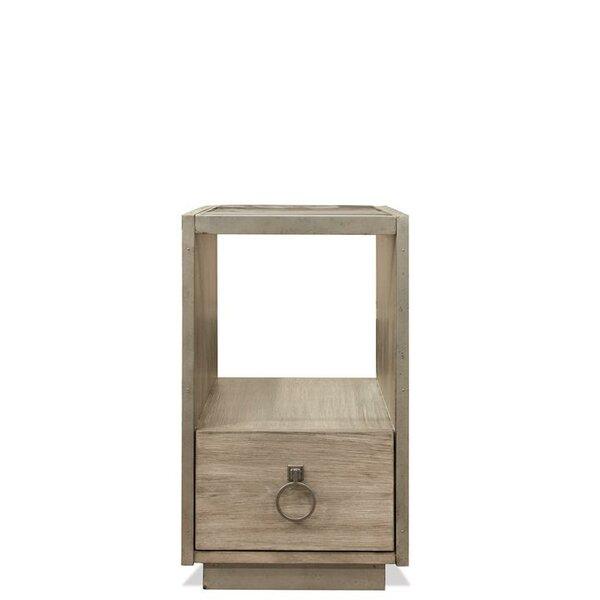 Almazan End Table with Storage by One Allium Way