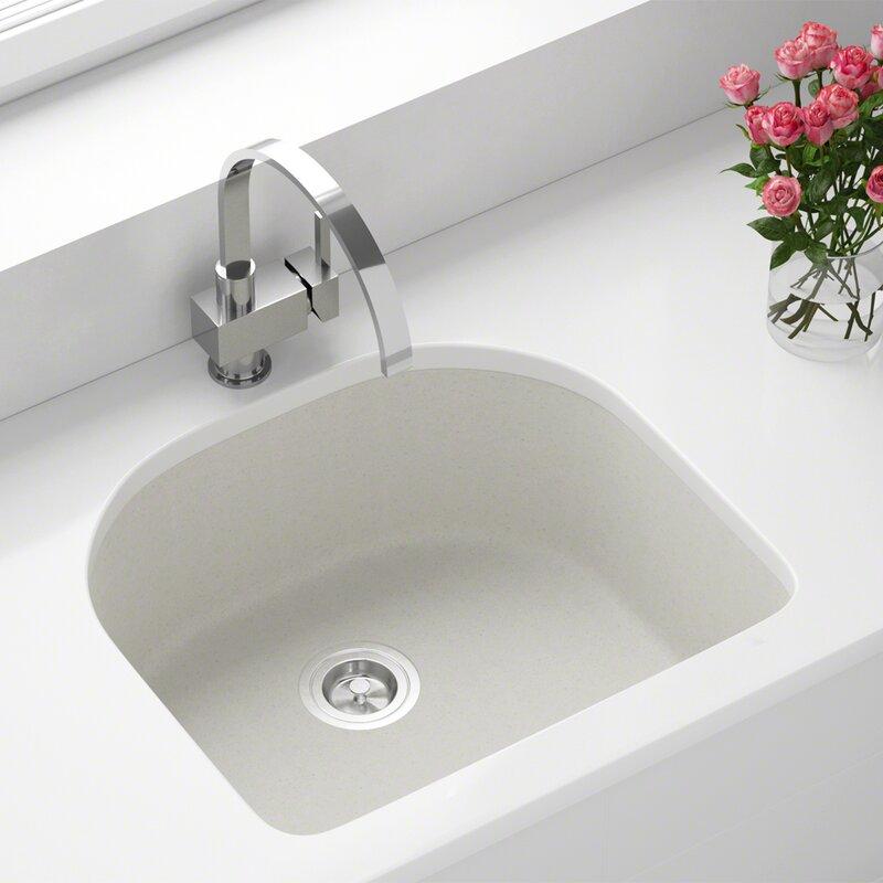 Kitchen Sink 25 X 22 Mrdirect granite composite 25 x 22 undermount kitchen sink with granite composite 25 x 22 undermount kitchen sink with basket strainer workwithnaturefo