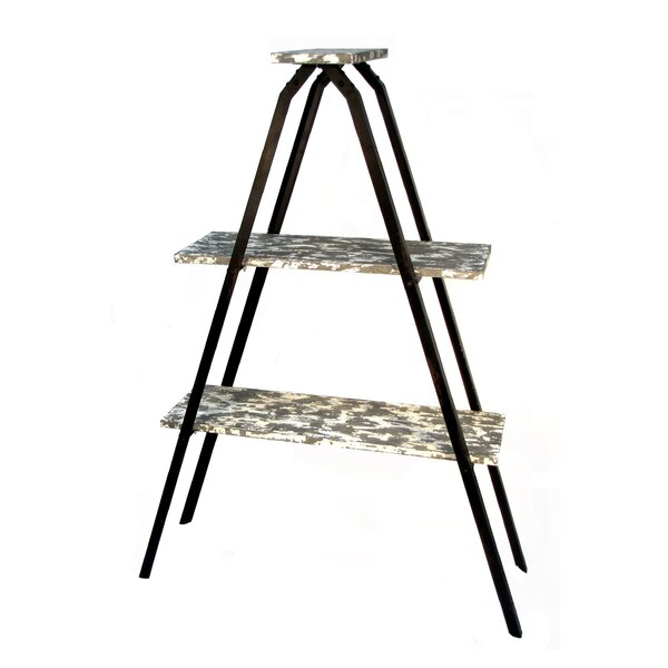 Prairie Home Frame Tier Etagere Bookcase by Wilco Home