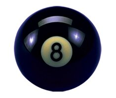 Action Billiard Balls Crazy 8-Ball by Action