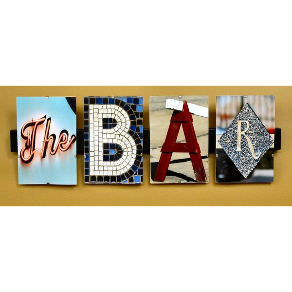 The Bar By Greg And Dilynn Puckett Textual Art By Language Art.