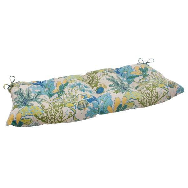 Splish Splash Indoor/Outdoor Loveseat Cushion by Pillow Perfect