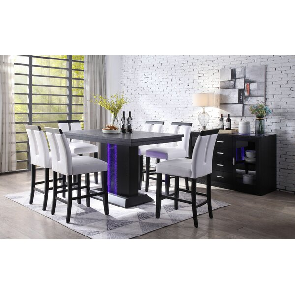 Amazing Buford 7 Piece Pub Table Set By House Of Hampton New
