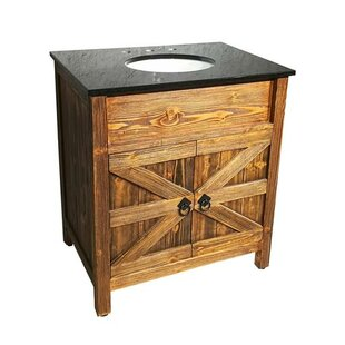 Buying Estep Barn Door 30 Single Bathroom Vanity Set ByMillwood Pines