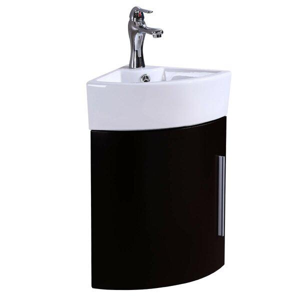 Coleraine 17 Wall-Mounted Single Bathroom Vanity Set