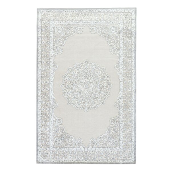 Trinidad Ivory/Gray Area Rug by Astoria Grand