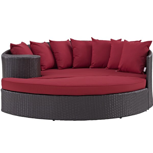 Brentwood Patio Daybed With Cushions By Sol 72 Outdoor