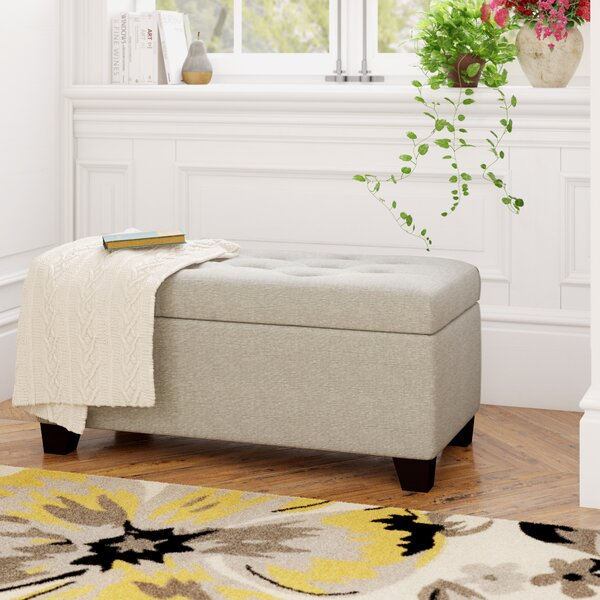 Review Kenneth Tufted Storage Ottoman