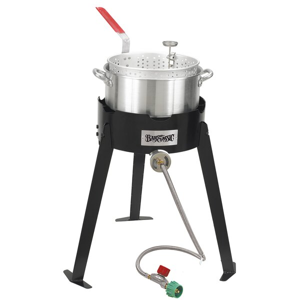 Aluminum Fish Outdoor Stove by Bayou Classic