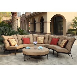 Lanesville 6 Piece Sectional Set with Cushions by Darby Home Co