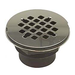 4.25 Grid Shower Drain by B&K Industries