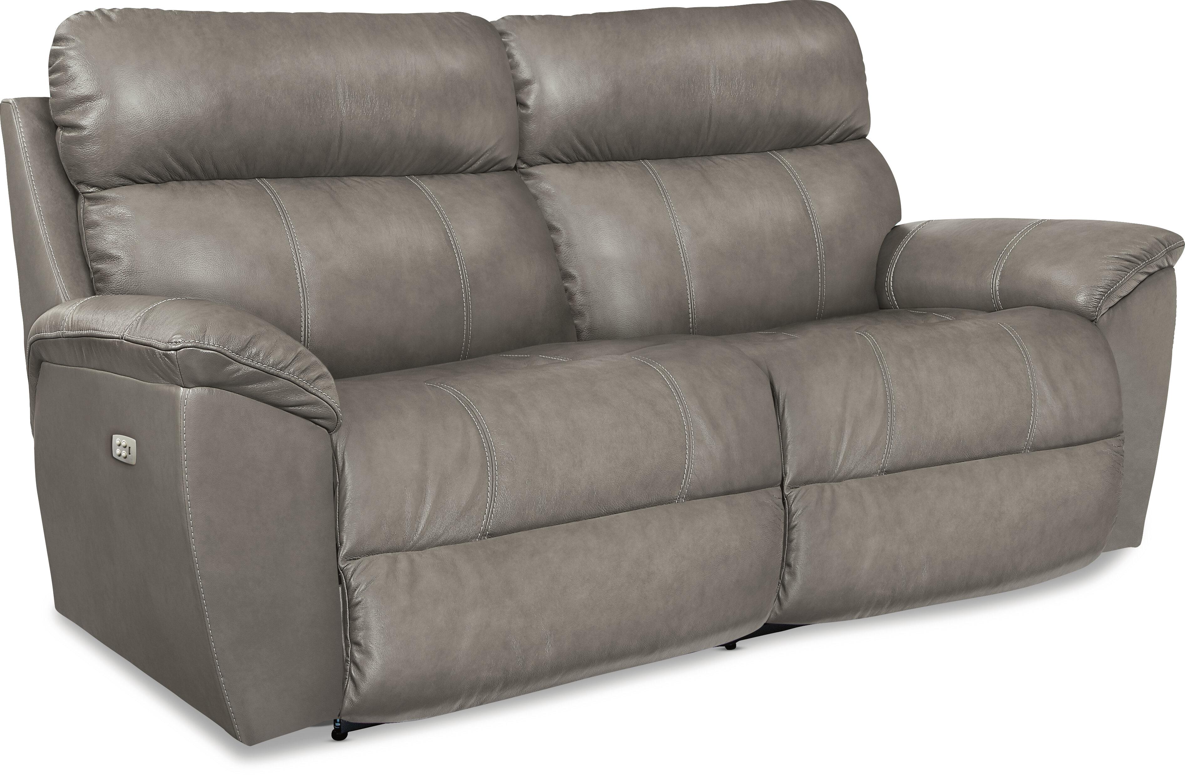 La Z Boy Roman Leather Reclining Sofa