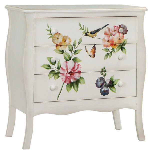 Sanger 3 Drawer Accent Chest by August Grove August Grove