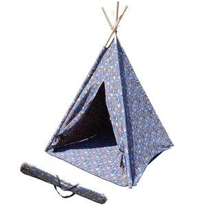 Childrenu0027s Teepee Play Tent  sc 1 st  Wayfair & Kids A Frame Tent | Wayfair