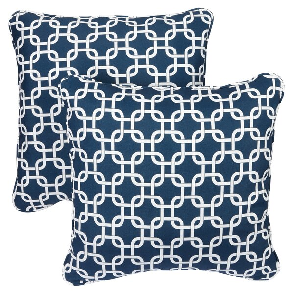 Midland Indoor/Outdoor Throw Pillow (Set of 2) by Mercury Row