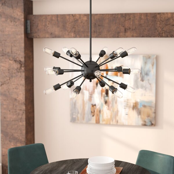 Defreitas 18-Light Chandelier by Mercury Row