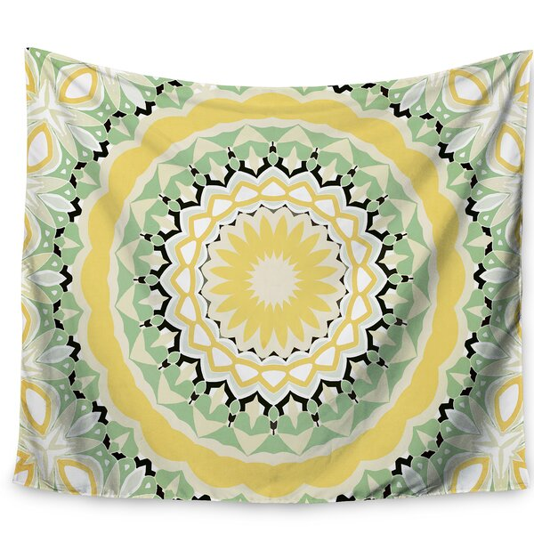 Alison Coxon Mellow Yellow Tapestry and Wall Hanging by East Urban Home