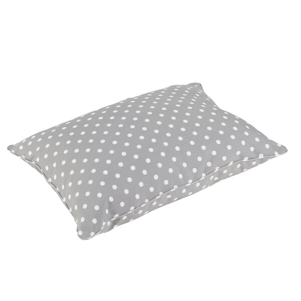 Alleyne Piped Edge Indoor/Outdoor Floor Pillow by Latitude Run
