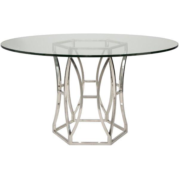 Reynaldo Metal Base Dining Table by Willa Arlo Interiors