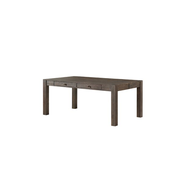 Benat Solid Wood Dining Table by Gracie Oaks