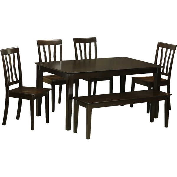 Capri 6 Piece Dining Set by Wooden Importers Wooden Importers
