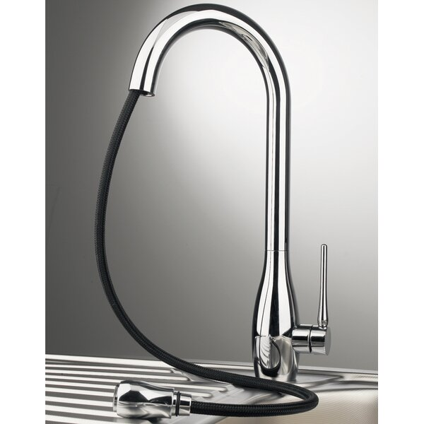 Jar Pull Out Single Handle Kitchen Faucet by Maestro Bath