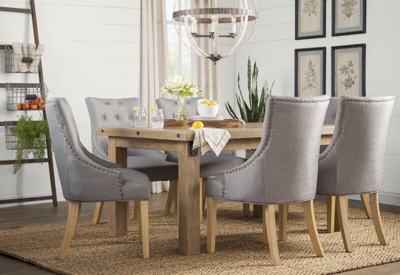 Laurel Foundry Modern Farmhouse Fort Oglethorpe Extendable Dining Table Reviews Wayfair