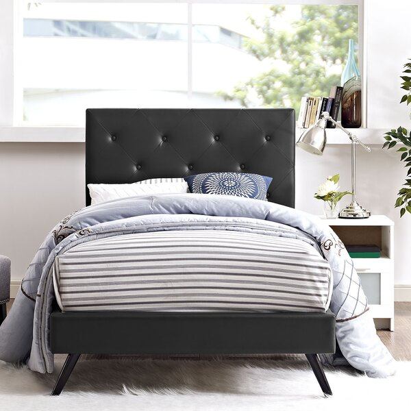 Charlize Upholstered Platform Bed by Andover Mills