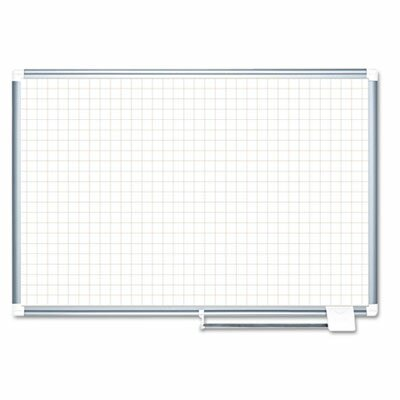 Wall Mounted Whiteboard, 36 x 48 by Mastervision