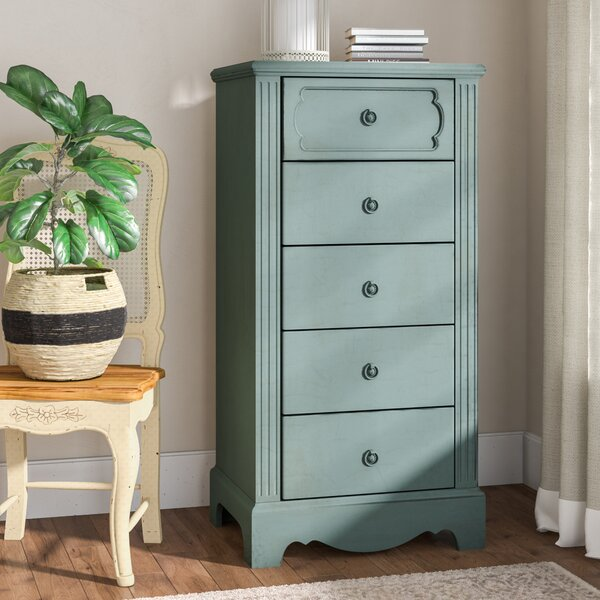 Asbury 5 Drawer Chest by Lark Manor
