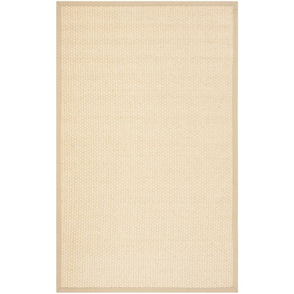 Chalfant Beige Area Rug by Rosecliff Heights
