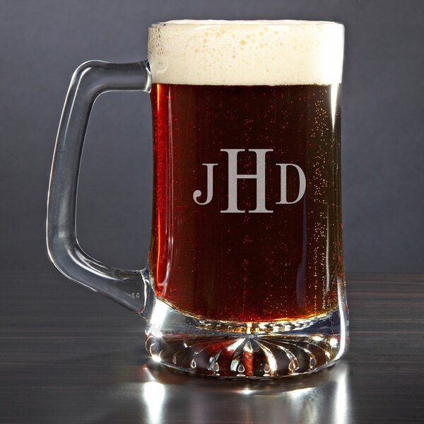 Personalized 25 oz. Beer Mug by Home Wet Bar