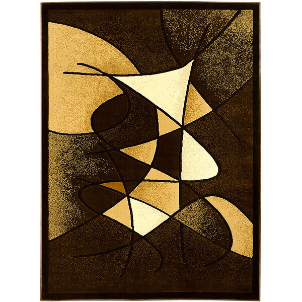 Chocolate Area Rug by AllStar Rugs